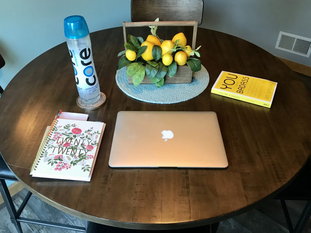 Sunday well spent_work station kitchen table_resilient women rise