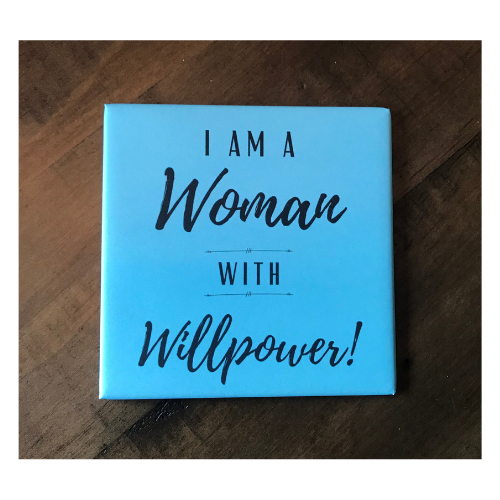Magnet - woman with willpower_store preview